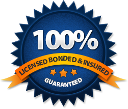 licenced, bonded and insured